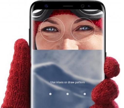 干货!一文教你如何正确使用S8的虹膜识别