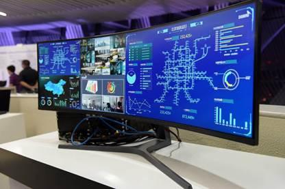 三星商用显示器发布交通安防行业监控解决方案
